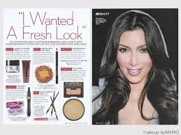 in the recent issue of ok magazine kim explains how i created this look on her from the bebe fashion show in nyc read through the page above to get the
