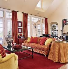 Red And Blue Living Room Decor 25 Red Living Room Designs Decorating Ideas Design Trends