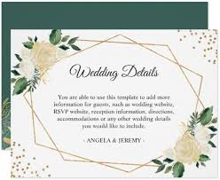 wedding reception card reception cards templates rome fontanacountryinn com