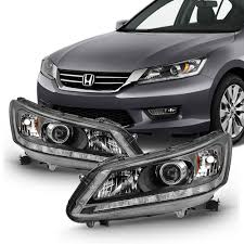 2013 Honda Accord Fog Light Installation 1 Pair Clear Len Replacement Fog Lights Lamps For 2013 2015