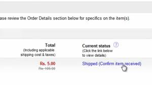Confirm Of Receipt How To Confirm Item Receipt On Ebay