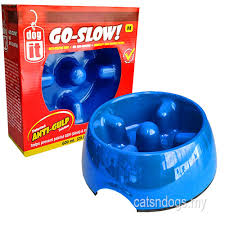 my based online pet supply store for your cat dogit go slow anti gulping dog dish blue medium 600ml