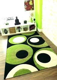 apple green wool rug kitchen