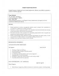 civil engineer resume sample sample technology resume