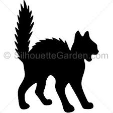 halloween black cat silhouette.  Halloween Pin By Muse Printables On Silhouette Clip Art At SilhouetteGardencom   Pinterest Halloween Halloween Silhouettes And Cat Silhouette To Black C