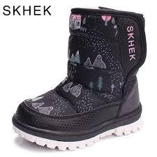 <b>SKHEK</b> Brand Winter <b>Boots Girls</b> High Quality <b>Children</b> Botas For ...