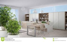 Modern Bamboo House Interior Design Zen Interior With Potted Bamboo Plant Natural Interior