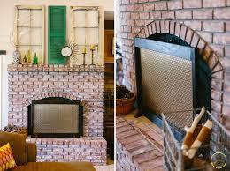 diy wooden frame laser cut fireplace screen via zestitup com