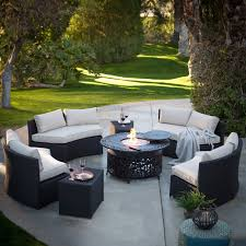 patio conversation sets with fire pit great wicker conversation scheme of outdoor conversation sets