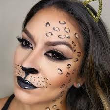 y leopard makeup