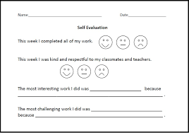 Self Assessment Template. Employee Self Assessment Examples Employee ...