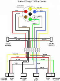 trailer light wiring diagram 4 pin7 pin plug with 7 gooddy org 5 wire trailer wiring at Trailer Light Wiring