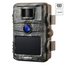 Campark Trail Camera 14mp 1080p Gamehunting Night Vision Motion