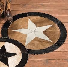 star cowhide rug 36 inch