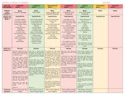 Weight Loss Menu Planner Template Printable Eating Plan To Lose Weight Download Them Or Print