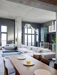 contemporary loft furniture. Living Room Design In Real Contemporary Loft. Loft Furniture L