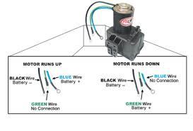 boat repair forum marine tilt trim motor tech tips permanent magnet field motor