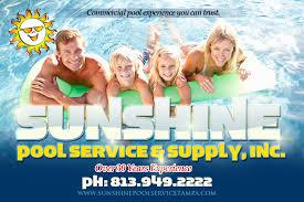 pool service ad. Sunshine Pool Service Ad Pool Service Ad