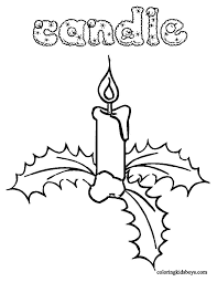 Small Picture Coloring Pages Christmas Coloring Book For Kids Candles Coloring
