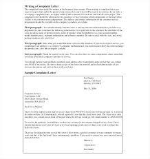 letter of complaint claim letter sample formal letters complaint  letter of complaint letter complaint templates sample example format claim formal letters complaint letter example letter of complaint