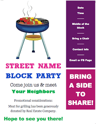 Block Party Flyers Templates Free Block Party Flyer Template Redhead Ranting