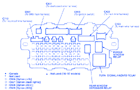 2000 honda civic ex fuse box diagram diy wiring diagrams \u2022 1997 Honda Civic Ex at 06 Honda Civic Ex Fuse Box