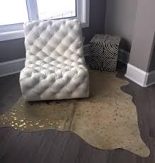 gold metallic gold metallic gold metallic cowhide rugs