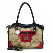 Buy Coach Legacy Logo In Signature Medium Khaki Satchels BPR