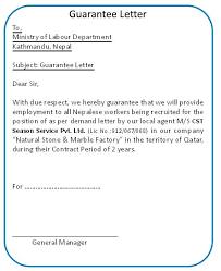 54 Unique Guarantor Letter Template Template Free