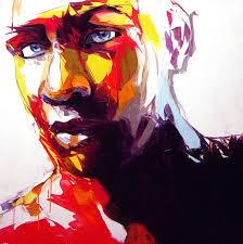 francoise nielly portrait palette painting expression face019