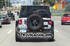 2018 jeep jl interior. wonderful 2018 black 2018 jeep wrangler rubicon spied with exposed rear hardtop intended jeep jl interior i