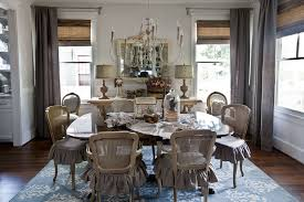 dining room and rug