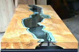 resin wood table wood resin table wood and resin table top designs resin wood table making