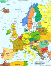 Страны Средней Европы Карта стран Европы