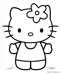 How To Draw Hello Kitty Step By Step Drawing Tutorials