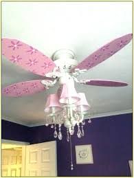 little girl ceiling fan girls fans with chandelier for home design ideas houses