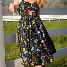 Pinup Girl Clothing Ella Dress In Alice In Depop