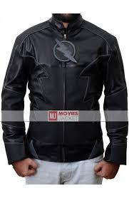 hunter zolomon the flash zoom leather jacket