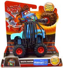 Amazon.com: Disney / Pixar CARS TOON Exclusive Monster Truck Rasta ...