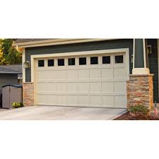 residential recessed panel garage door 2298