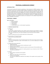 Business Opportunity Statement Template Plan Proposal Format Samples ...