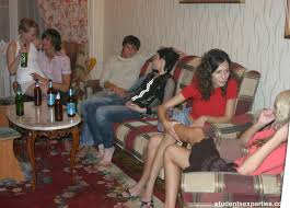 Brunette from Student Sex Parties Pictures and Videos