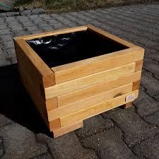 4 corner wooden planters around 40 cm 16 inch glazed planter flower box garden planter trough co uk garden outdoors