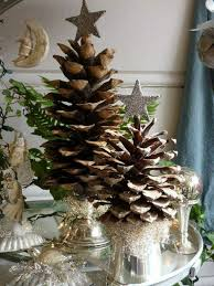 65 Simply Magical DIY Pinecones Crafts That Will Beautify Your Pine Cone Christmas Tree Craft Project