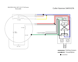 wiring help needed baldor 5 hp to cutler hammer drum switch 110v Switch Wiring Diagram motor wiring question jpg 110v electric motor switch wiring diagram