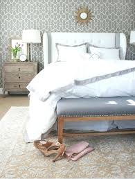 how to place area rug in bedroom master bedroom layers of bedding from a thoughtful place how to place area rug in bedroom