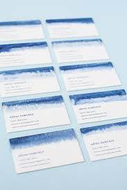 tie dye business cards diy indigo dip dyed business cards julep