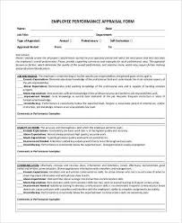 Simple Appraisal Form Cool Simple Appraisal Forms 48 Free Documents In Word PDF