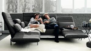 comfortable rolf benz sofa. Comfortable Rolf Benz Sofa In Black And Brown: Marvelous Modern Style Gray 0