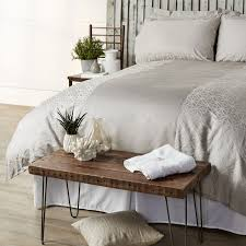 K by Kelly Hoppen 1000TC Egyptian Cotton Souk Jacquard 6 Piece Duvet Set -  804916